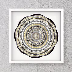 Gold leaf mandala illustration gold leaf square print | Etsy #mandala #goldleaf #illustration #prints #etsy Modern Art, Contemporary Art, Different Shades Of Pink, Flower Mandala, Gold Leaf, Unity, The Dreamers, Original Artwork, Abstract Art