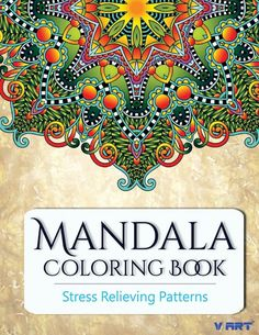 Mandala Coloring Book Coloring Books for Adults