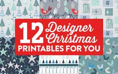 12 Designer Christmas Printables For You - Papercrafter