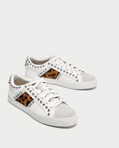 lowest price 1f674 d5e18 Zara Soldes, Zara Femme, Clous, Chaussures Femme, Garde Robe Pour L
