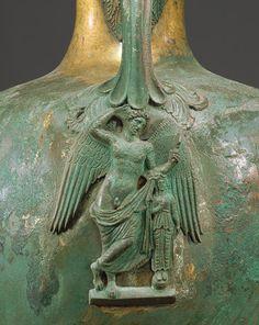 Bronze hydria (water jar) [Greek] (44.11.9) | Heilbrunn Timeline of Art History | The Metropolitan Museum of Art Vases, Supreme Art, Greece Art, Sculptures, Lion Sculpture, Creta, Ancient Artifacts, Ancient Greece, Bronze Sculpture