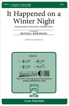 It Happened on a Winter Night (Octavo)