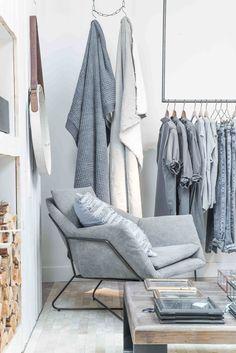 YAYA store, Den Bosch, The Netherlands by Paulina Arcklin Denim Drift, Multipurpose Furniture, Boutique Decor, Store Interiors, Scandinavian Living, Retail Space, Bedroom Storage, Inspired Homes, Home Decor Furniture