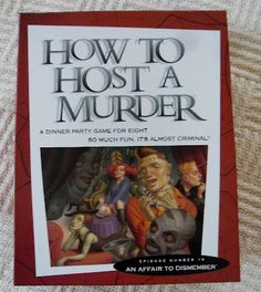 Creating my way to Success: Halloween themed murder mystery party