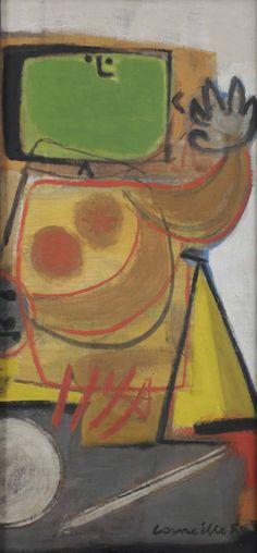 «Un Corneille (1922-2010), sin título (1950)».
