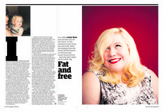 Guardian g2 spread: Lindy West extract