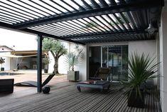 inspiration terrasse couverte toile