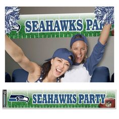 Seattle Seahawks flags and banners for your home, yard, vehicle, tailgating, or wherever you want to show your Man pride. Seattle Sounders, Seattle Mariners, Seattle Seahawks, Seattle Mist, Party World, Seahawks Football, Boys Playing, 12th Man, Super Bowl