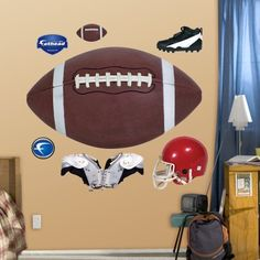fathead assorted football graphics graphic wall dcor you can find more details by visiting