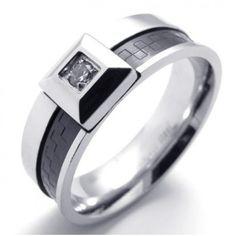 Anillo para hombre. Anillo de compromiso y anillo de boda, nuestra mejor selección de joyas para el matrimonio! Wedding ring, engagement ring