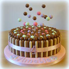 Chocolate Explosion Malterser Cake Pink www.sweet-nothings.co.uk