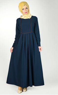 Causal Cotton Dress For Women Abaya Fashion, Muslim Fashion, Fashion Dresses, Modest Dresses, Modest Outfits, Cute Dresses, Simple Long Dress, Simple Dresses, Hijab Dress Party
