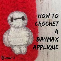  Crochet Baymax Applique - Free Pattern