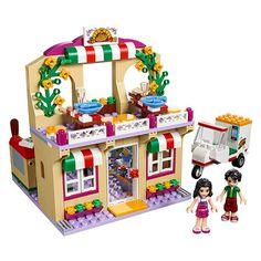 Neu Anleitung nur Lego Heartlake Pizzeria 41311 Manuell Buch Set Freunde LEGO Bausteine & Bauzubehör Baukästen & Konstruktion