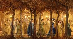 """""""Golden Wood"""" by Ruth Sanderson"""