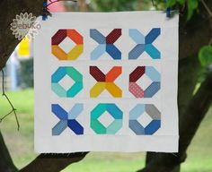 Love this Hugs and Kisses quilt!