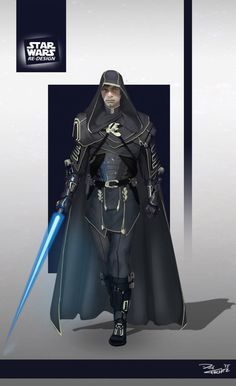 Star Wars ReDesign: Luke Skywalker by Phil-Sanchez on @DeviantArt