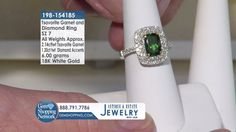 The Most Exquisite Jewelry Experience On TV - Colored Gemstones, Diamonds and So Much More! Garnet And Diamond Ring, Garnet Rings, Garnet Gemstone, Gemstone Colors, Blue Sapphire Necklace, Emerald Green Earrings, Jewelry Shop, Fine Jewelry, Ruby Rings