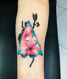 In search for a unique cherry blossom tattoo idea for your next body art piece? Here's a history guide and over 100 examples to inspire you! Feather Tattoos, Forearm Tattoos, Body Art Tattoos, Hand Tattoos, Arm Tattoos For Guys, Tattoos For Women, Blossom Tree Tattoo, Cute Tattoos, Tatoos