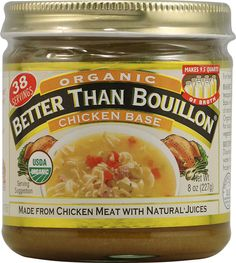 how to make chicken base from bouillon