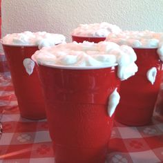Red Solo Cup Cake http://www.discoverlakelanier.com | Red Solo ...