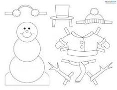 Small Snowman Template Dokya Kapook Co