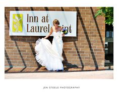 Bride at Inn at Laurel Point