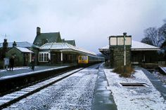 Keswick Station, prior to 1963, when Dr Beeching wielded his axe.