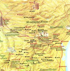 Map of Cathar history