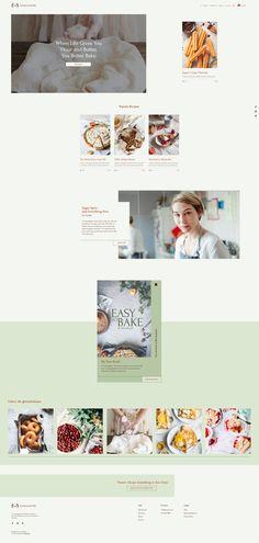 Baking Blog Website Template | Wix Website Templates