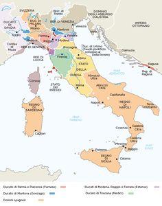 Italia dopo Cateau-Cambrésis - Cerca con Google