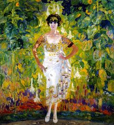 Anglada-Camarasa, Hermen (1871-1959) - 1924 Marieta Gonzalez Ayerza Garaño (Museum of Fine Arts, Buenos Aires, Argentina) by RasMarley, via Flickr