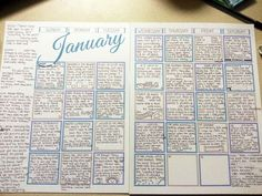 Calendar Journal.  Make journal keeping super easy by using a calendar to write down one or two sentences a day.  Keep track of all the important things, cute kid quotes, special occasions and events and the day-to-day life events too.  Margins make great