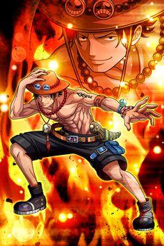 Manga Anime One Piece, One Piece Fanart, One Piece Ace, One Piece Luffy, Roronoa Zoro, Poster Anime, One Piece Tattoos, One Piece Wallpaper Iphone, Ace And Luffy