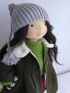 """ELENA 19"""" waldorf doll  by DEARLITTLEDOLL"""