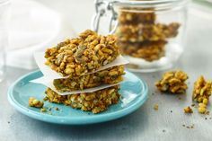 For a deliciously different snack, try this sweet and salty nut bar.