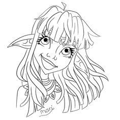 A quick sketch before bed 😴  #lineart #blackandwhite #elf #elfgirl #elfgirldrawing #girldrawing #digitalillustration #doodle #doodlesketch Before Bed, Doodle Sketch, Quick Sketch, Digital Illustration, Line Art, Elf, Doodles, Illustrations, Instagram