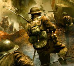 British offensive, WWI