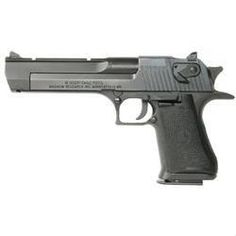 """Magnum Research Desert Eagle Mark XIX Semi Auto Handgun .44 Magnum 6"""" Barrel 8 Rounds Black Grips Black Oxide Finish I may just have to buy one of these..."""