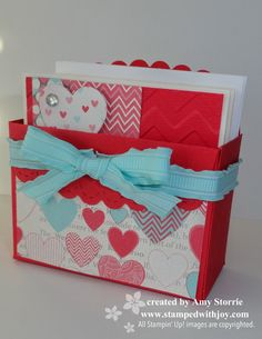 Valentine Love Notes in a box