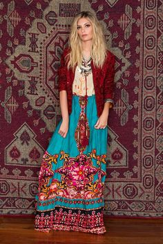 Boho Gorgeous - those bright colors are always my fav