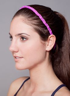 Thin Braided Headband by DA Active
