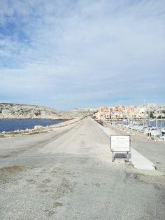 Ilhas de Frioul, Marselha. Chegando..