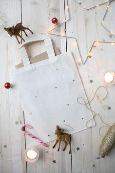 petit sweet | sac confettis gold #swieta #christmas