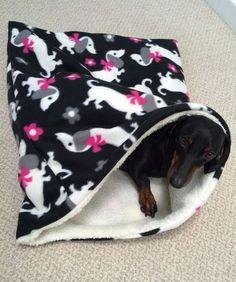 Weenie Warmer Weenie Wrapper Combination by WeenieWarmers on Etsy #dachshund