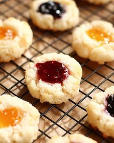 🎄🎁 Coconut Macaroon Bird's Nest Cookies - Grab the recipe and make these pretty little babes for Christmas! • Recipe lin...