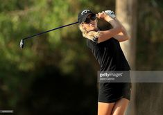 Paige Spiranac of the United States in action during the pro-am as a. Flexibility Training Program, Training Programs, Emirates Golf Club, Golf Card Game, Dubai Golf, S Youtube, Miniature Golf, Golf Training, Golf Tips