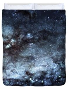"On the Galaxy Edge Queen (88"" x 88"") Duvet Cover"