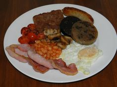this is my full, cooked Scottish breakfast, what's yours?
