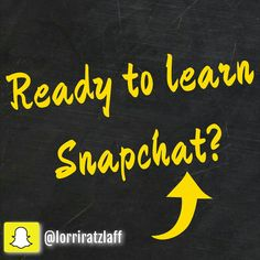 Tonight's CLASS is all about #SNAPCHAT! Register before 6 PM Pacific June 9th time to get in!